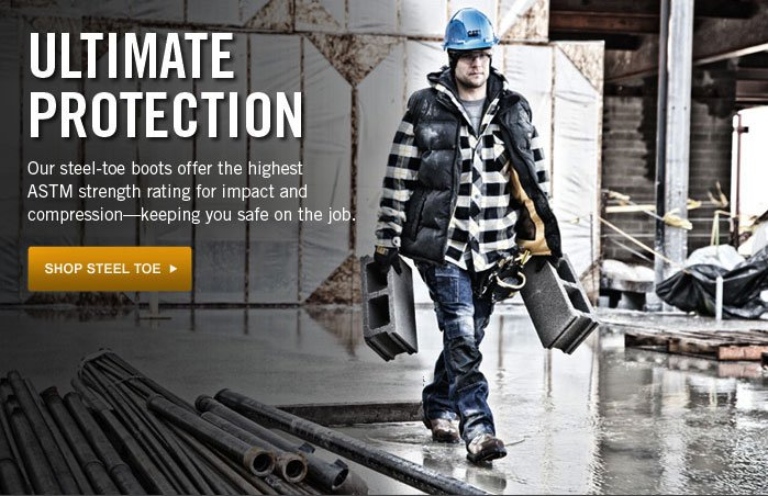 Ultimate Protection Shop Steel Toe