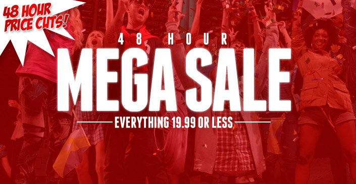 48 Hours Mega Sale