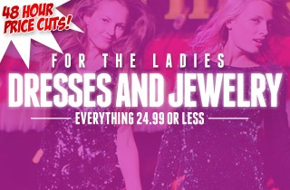 For The Ladies: Dresses and Jewelry