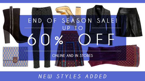End of Season Sale: Up to 60% off! New styles added.