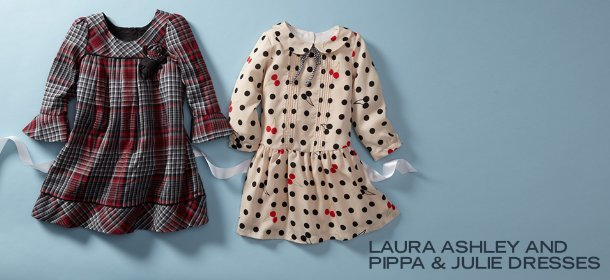 LAURA ASHLEY AND PIPPA & JULIE DRESSES, Event Ends January 30, 9:00 AM PT >