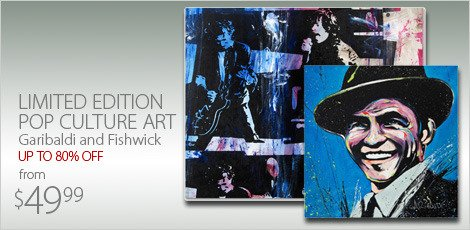 Limited Edition Pop Culture Art