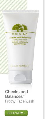 Checks and Balances Frothy Face wash SHOP NOW