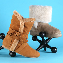 Snuggly Steps: Faux-Shearling Shoes