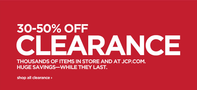 30-50% OFF CLEARANCE shop all clearance›