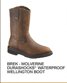 Brek - Wolverine Durashocks Waterproof Wellington Boot