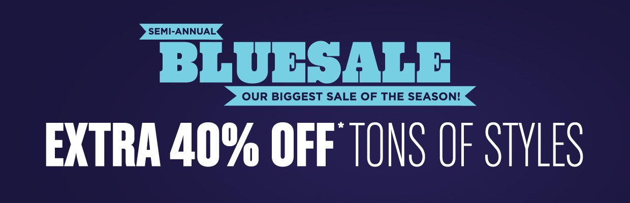 Additional Markdowns Taken on Blue Sale