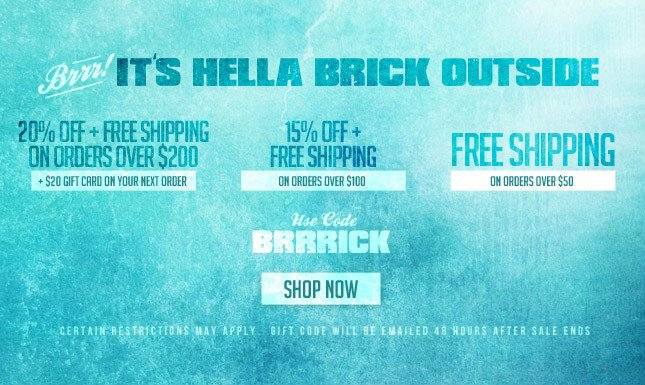 20% OFF + FREE SHIP + $20 Gift Card for next purchase!