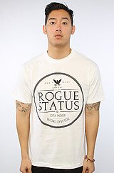 The RS Label Tee in White & Black