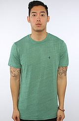 The Solid Tri Blend Tee in Jade