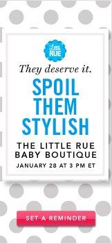 The Little Rue Baby Boutique. Set a Reminder