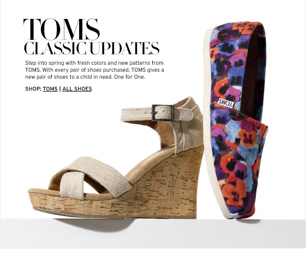 For a limited time, TOMS is giving students AND teachers 15% off shoes, sunglasses, and more. Buy a pair of TOMS for yourself or as gifts for your family and friends.5/5(19).