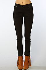 The Core Tight Hi-Waist Skinny Jean in Very Stretch Black