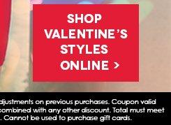 Shop Valentine Style ONLINE