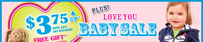 Baby Sale!