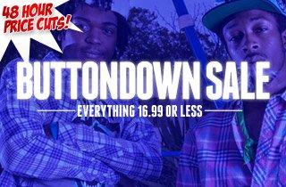 Buttondown Sale - 16.99 or Less