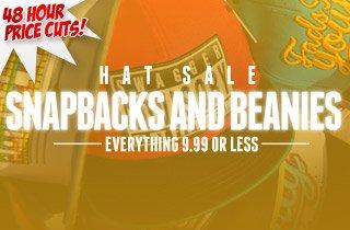 Hat Sale - Snapbacks and Beanies