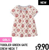 TODDLER GREEN GATE CREW NECK T
