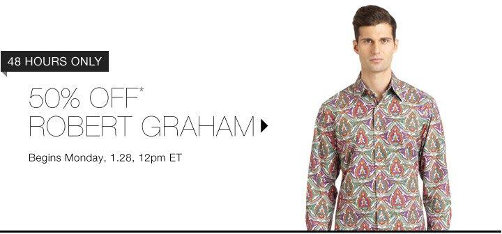 50% Off* Robert Graham...Shop Now