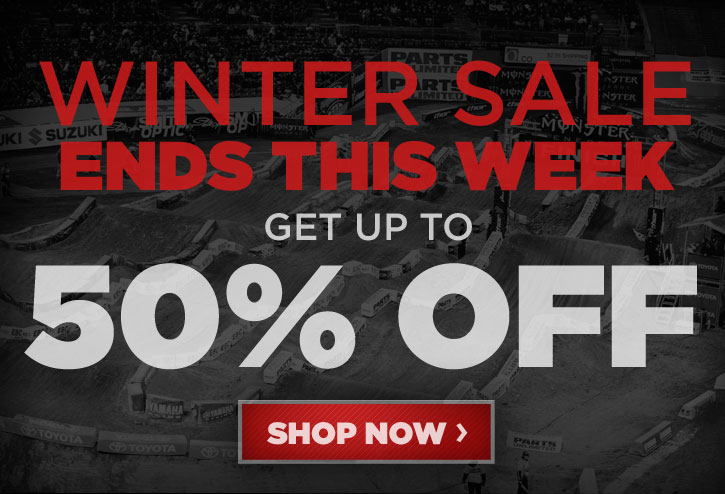 Winter Sale Ends This Week