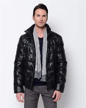 Dolce & Gabbana Men's Down Puffer Jacket- Made in Italy