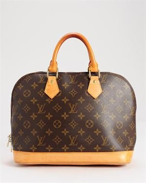 Louis Vuitton LU Monogram Alma Handbag, 7/10 Condition