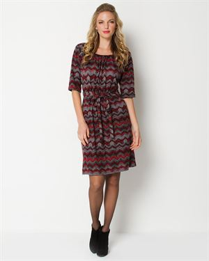 Tiana B. Printed And Tied Dress - Made In The USA $25