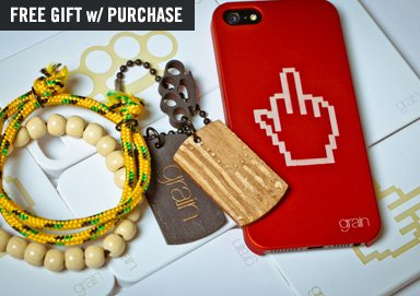 Shop All New Grain Phone Cases & Jewelry
