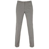 Paul Smith Trousers - Grey Cotton Blend Pique Trousers
