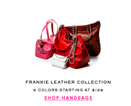FRANKIE LEATHER COLLECTION - 5 Colors Starting at $128 - SHOP NOW
