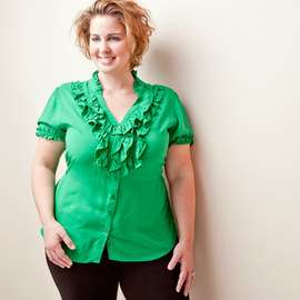 Gorgeous in Green: Plus-Size Apparel
