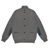 Paul Smith Knitwear - Grey Salt And Pepper Cardigan