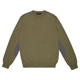 Paul Smith Knitwear - Khaki Crew Neck Jumper