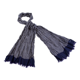 Paul Smith Scarves - Navy Kokia Print Scarf