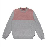 Paul Smith Knitwear - Grey Shoulder Stripe Jumper