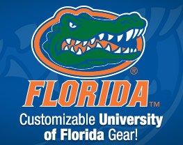Customizable University of Florida Gear!