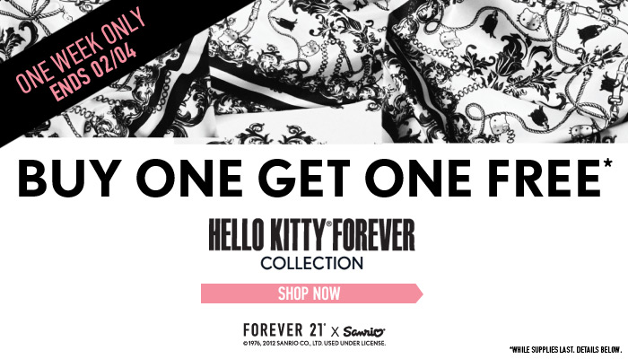 Hello Kitty Collection: Buy One Get One Free! - Shop Now