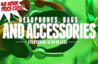 Headphones, Bags and Accessories