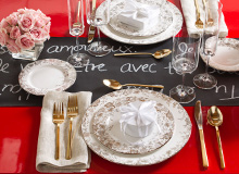 Table for Two  A Romantic DinneratHome