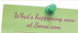 What's happening now at Sonsi.com
