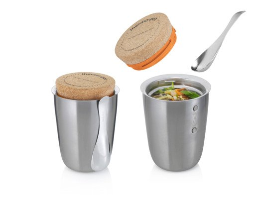 With an airtight cork, this sleek stainless steel pot from Black & Blum keeps oatmeal, soup, stews, and more hot for up to five hours.