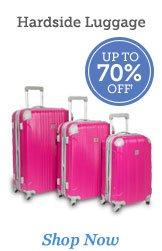Shop Hardside Luggage >