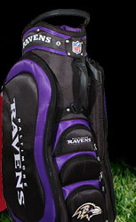 Team Golf NFL Baltimore Ravens Medalist Cart Bag
