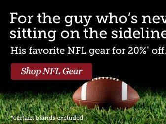 Shop NFL Gear >