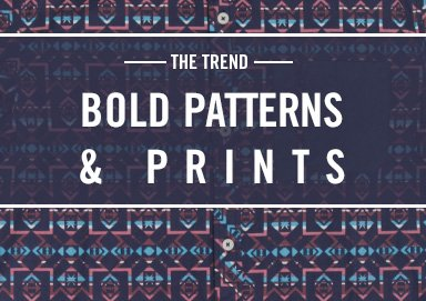 Shop The Trend: Bold Patterns & Prints