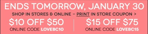 Print In Store Coupon