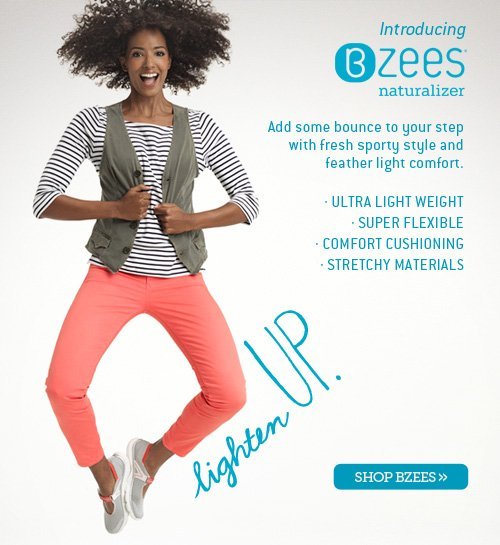Introducing BZEES | add some bounce to your step