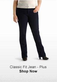 CLASSIC FIT JEAN - PLUS SHOP NOW