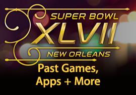 NFL Super Bowl XLVII - Past Games, Apps + More