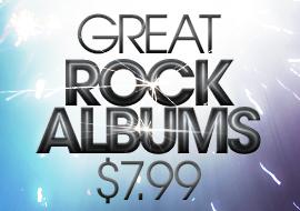 Great Rock Albums: $7.99